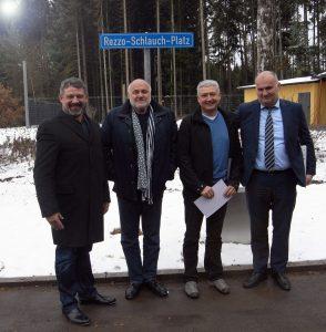 Volker Gallatz, Rezzo Schlauch, Armin Gallatz, Alexander Hanfstein